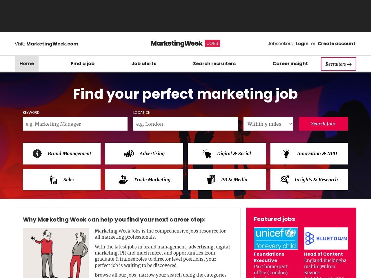 Recruitment Consultant – Marketing