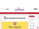 Ministry of industries MOIND Job Circular 2021