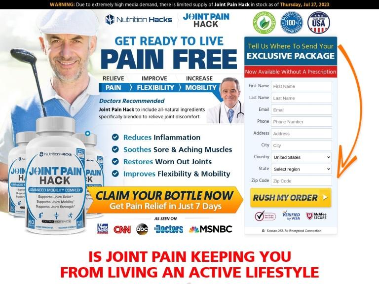 Joint Pain Hack screenshot