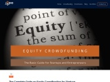 The Complete Guide on Equity Crowdfunding for Startups – joopio