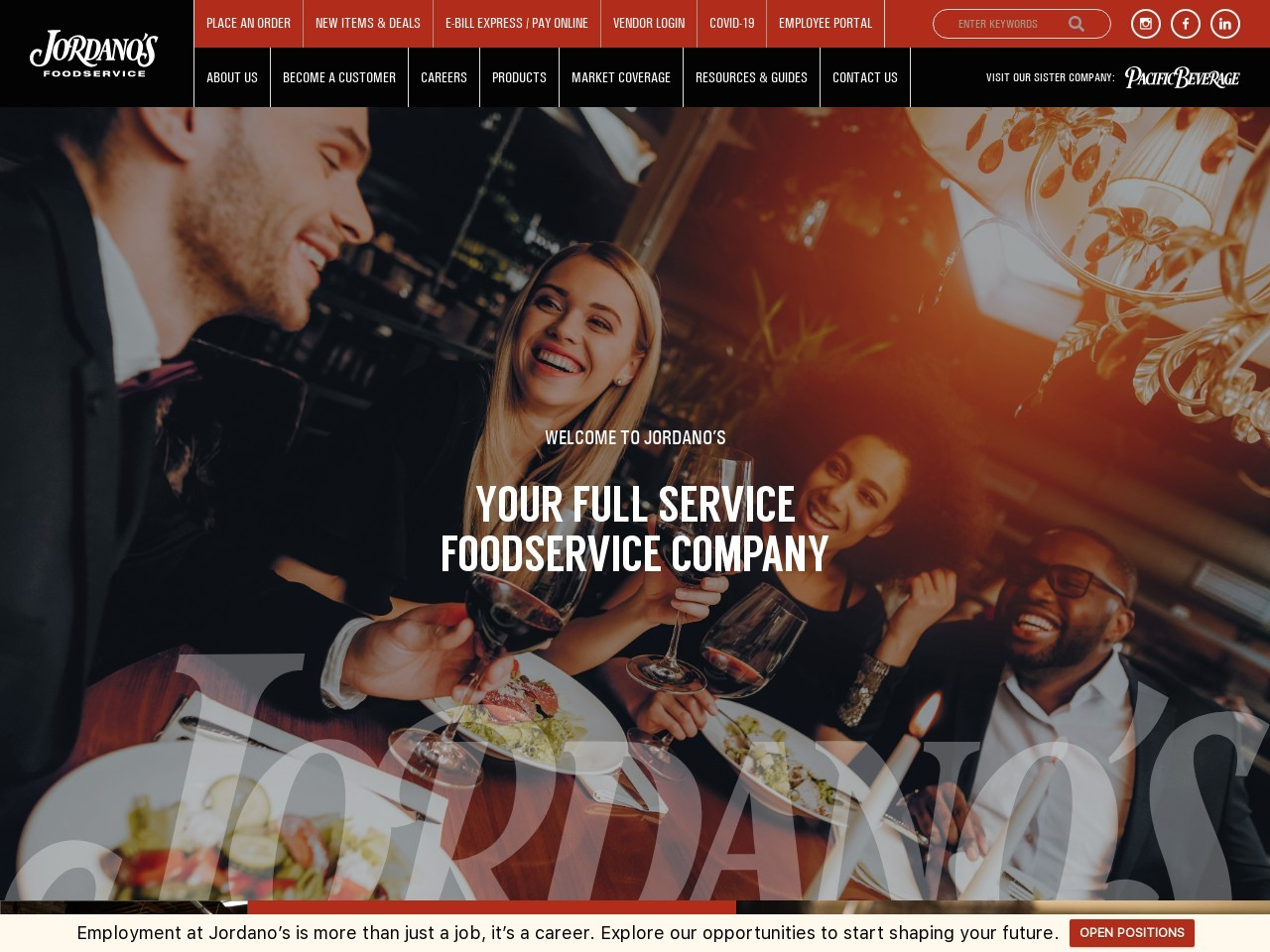 Equipment & Smallwares   Jordanos Food Services