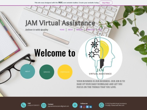JAM Virtual Assistance, your VA Buddy