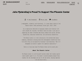 John Pjeternikaj Is Proud To Support The Phoenix Center