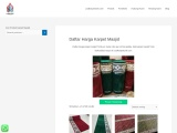 Daftar Harga Karpet Masjid Turki Per Meter