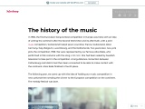 The history of the music – Jukeboxy