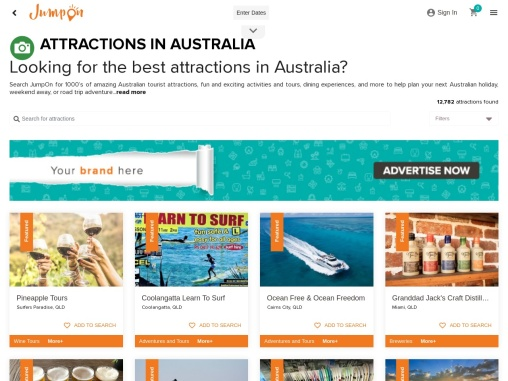 FIND THINGS TO DO & THE BEST TOURIST ATTRACTIONS