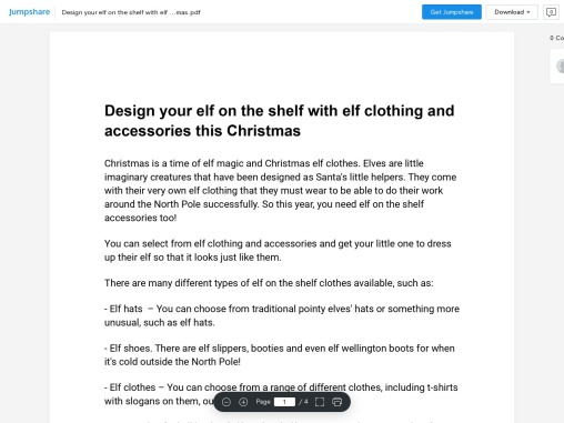Design your elf on the shelf with elf clothing and accessories this Christmas