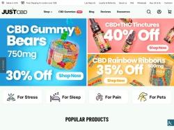 Just CBD Store screenshot