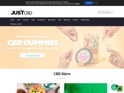 JustCBD Uk screenshot
