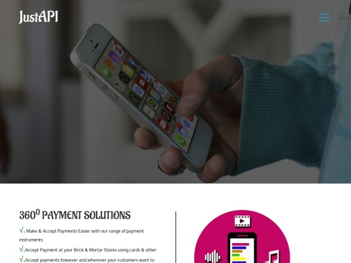 API Services Provider in India , No. 1 API Service Provider Company – Justforpay.in