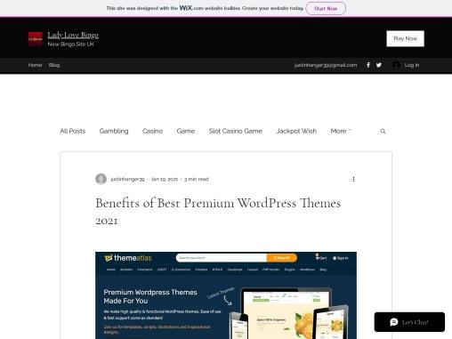 Benefits of Best Premium WordPress Themes 2021