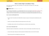 What Is Delta Flight Cancellation Policy