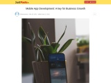 Mobile App Development: A key for Business Growth