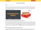 Custom pizza boxes wholesale with free Shipping in USA