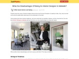 What Are Disadvantages Of Being An Interior Designer In Adelaide?