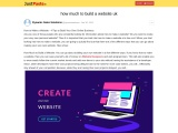 how much to build a website uk   Justpaste.IT