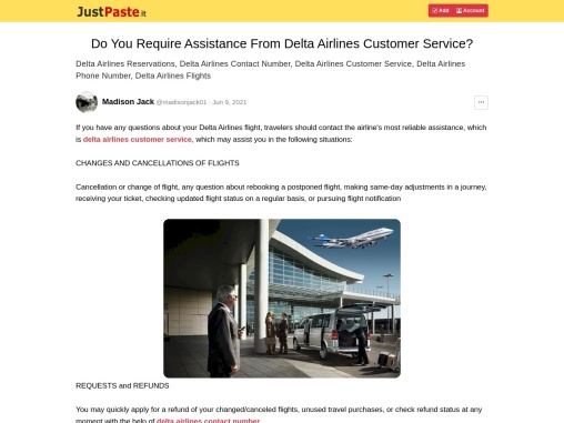 Do You Require Assistance From Delta Airlines Customer Service?