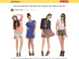 Here Are Women's Tops that Can Increase Your Sales in the UK!