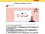 Top 5 Laravel development company
