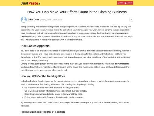 Buy Wholesale Clothing – Clothing Suppliers Uk