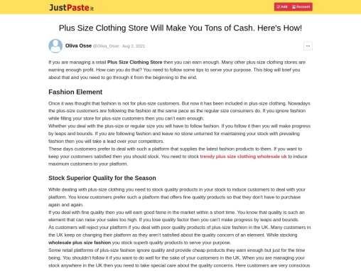 Cheap Plus Size Clothing – Useful Tips To Gain More Profit In Plus Size Clothing!