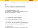 Best Ways To Land Your Dream Job in Canada