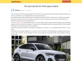 Audi Q3 Sportback 45 TFSI e compact SUV