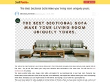 Best Sectional Sofa in Toronto