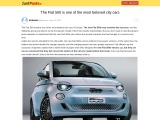 The new Fiat 500e electric city car is here