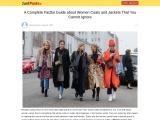 Cheap Coats For Women – Easy Way To Buy Cheap Coats For Women In Uk!