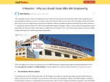 5 Reasons – Why you Should Study MBA after Engineering