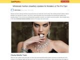 Wholesale Fashion Jewellery UK – Go Online to Wholesale Shopping UK!