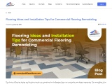 Flooring Ideas and Installation Tips for Commercial Flooring