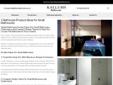 Bathroom Product Ideas for Small Bathrooms and Cloakrooms | Kallums Bathrooms