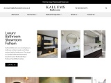 Luxury Bathroom Showroom Fulham | Kallums Bathrooms London