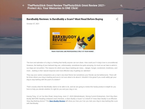 BarxBuddy Reviews: Is BarxBuddy A Scam? Must Read Before Buying