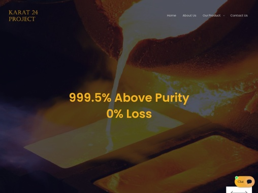 Karat 24 Project: Gold Refining Plant and Consultancy