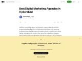 Best Digital Marketing Agencies in Hyderabad
