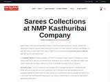 Muhurtham sarees collection | Kasthuribai Company