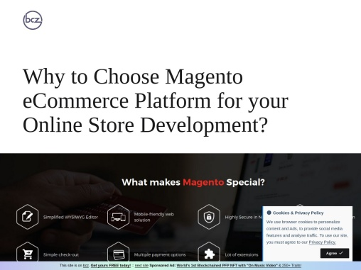 BCZ- Why to Choose Magento eCommerce Platform for your Online Store Development?