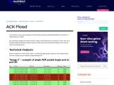 ACK Flood | MazeBolt Knowledge Base | MazeBolt Knowledge Base