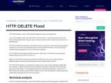 HTTP DELETE Flood | MazeBolt Knowledge Base