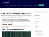 ICMP Time Exceeded (Type 11) Flood | MazeBolt Knowledge Base