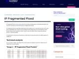 IP Fragmented Flood | MazeBolt Knowledge Base