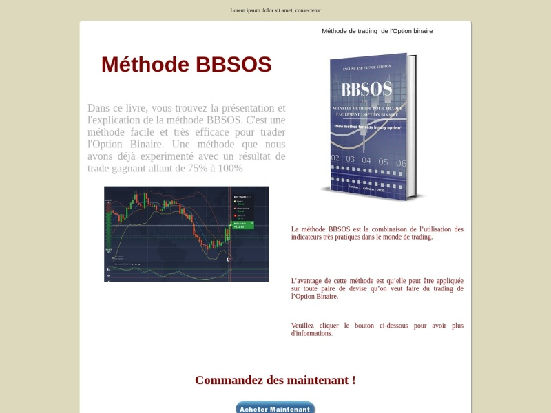 bbsos  methode tres efficace sur l'option binaire