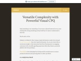 Versatile Complexity with Powerful Visual CPQ
