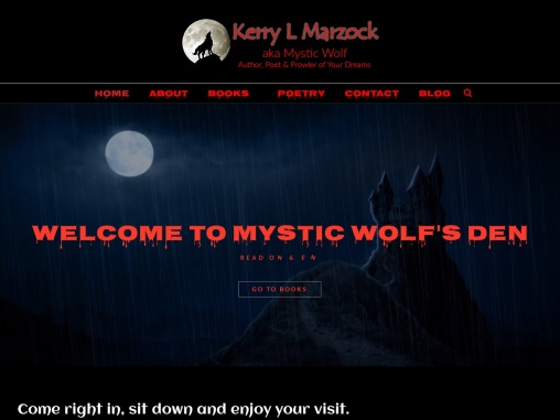 Welcome to Mystic Wolf's Den – Kerry Marzock