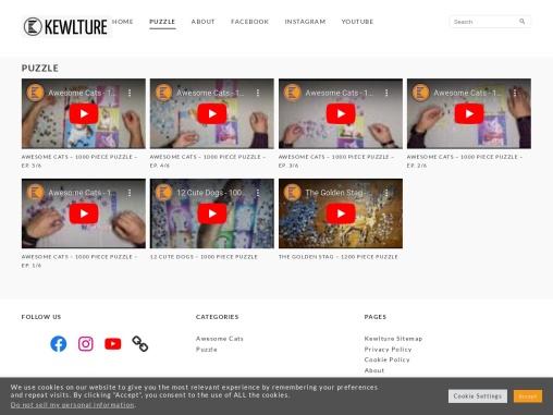 Puzzle Category – Kewlture Website