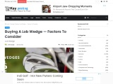 Buying A Lob Wedge — Factors To Consider