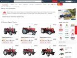 Massey Ferguson Tractors in India